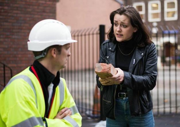 The Brick Becomes a Celebrity, Everyman Theatre, Liverpool - image Jessica Imrie