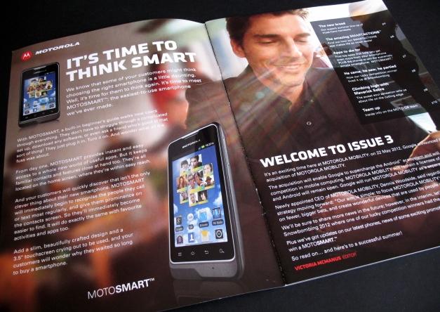 Moto magazine, Motorola