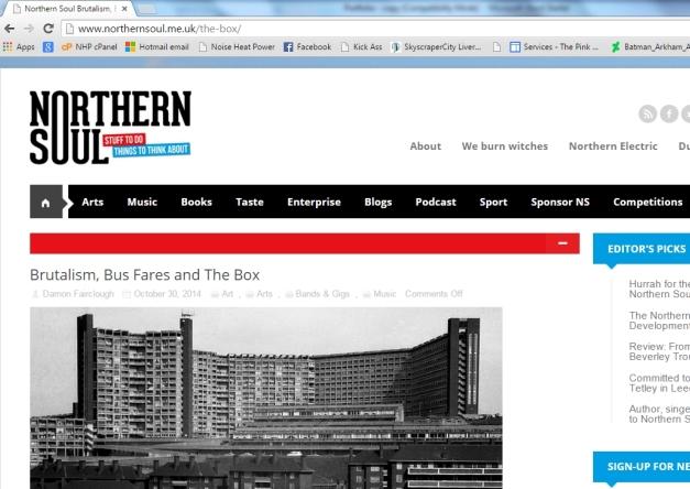 Northern Soul webzine
