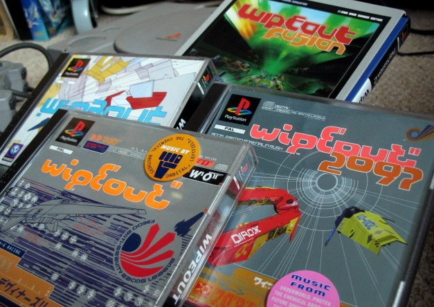Wipeout games for Sony PlayStation