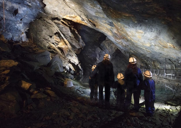 Llechwedd Slate Caverns, North Wales, featuring new deep mine tour scripted by Damon Fairclough