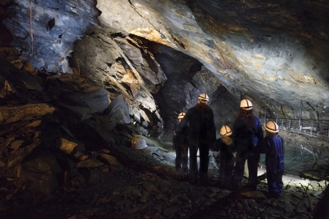The new deep mine tour at Llechwedd Slate Caverns scripted by Damon Fairclough.